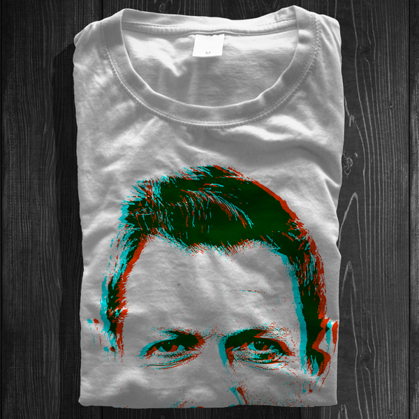 3D Goldblum - Jeff Goldblum stereoscopic t-shirt