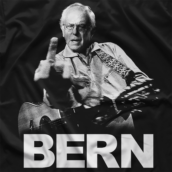Bernie Sanders Johnny Cash tribute shirt