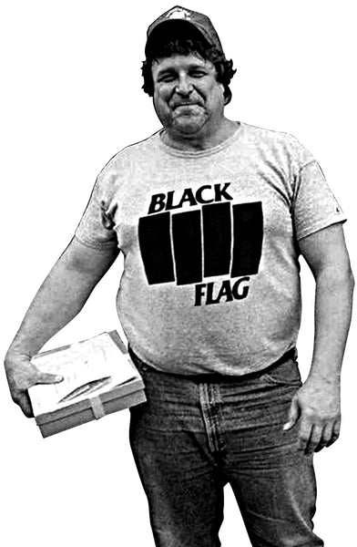 """John Goodman in a Black Flag T-Shirt"" 15oz mug"