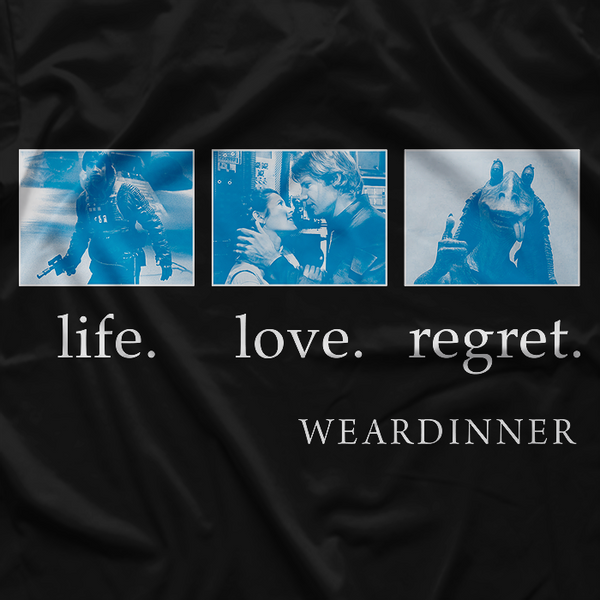 LIFE. LOVE. REGRET.