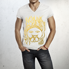 LEO - V neck t-shirt for him