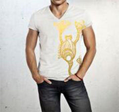 Scorpio -  V neck t-shirt for him