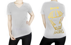 Taurus -  V neck t-shirt for her