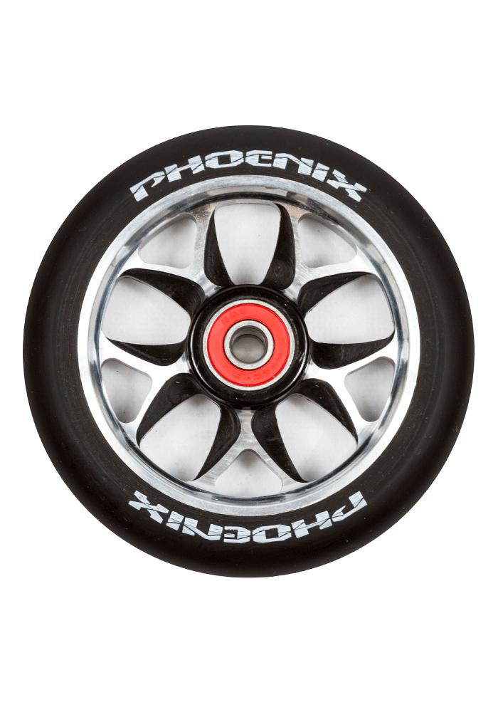 Phoenix F10 Alloy Core Wing Wheel 110mm - Pro Scooters USA   - 2