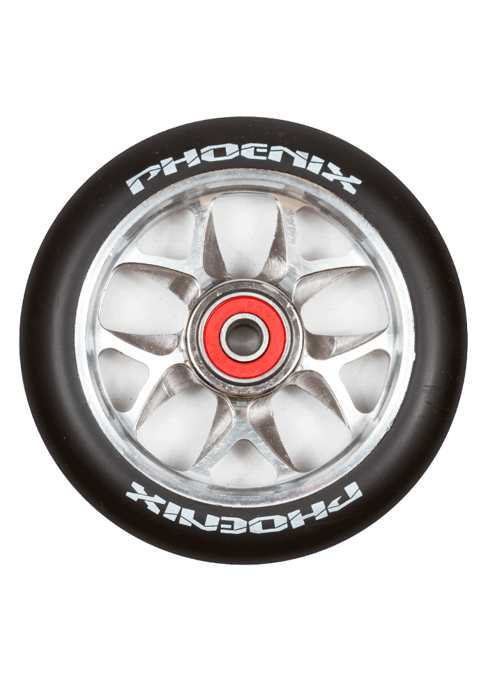 Phoenix F10 Alloy Core Wing Wheel 110mm - Pro Scooters USA   - 4
