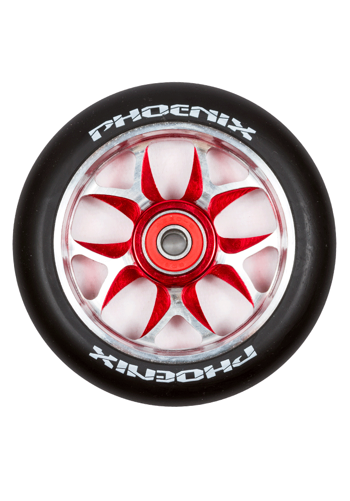 Phoenix F10 Alloy Core Wing Wheel 110mm - Pro Scooters USA   - 3