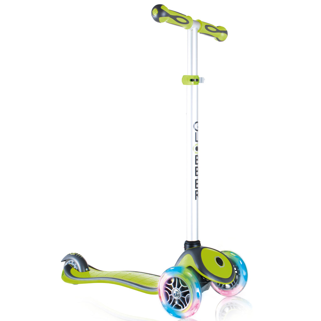 Globber 3 Wheel Adjustable Height Scooter w/ LED Light Up Wheels - Pro Scooters USA   - 6