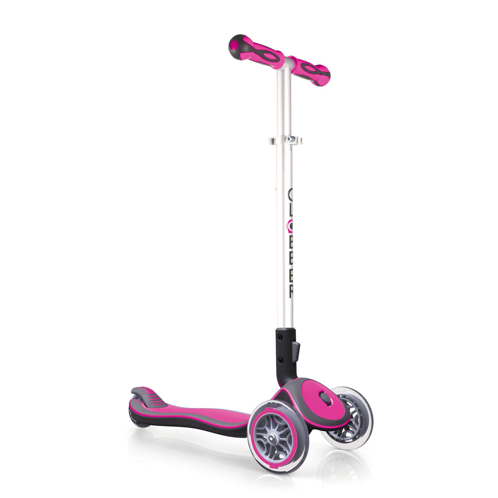 Globber Elite 3 Wheel Folding Adjustable Height Scooter