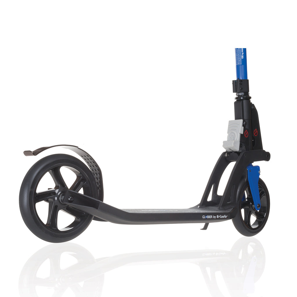Globber One K 180 Adult Folding Scooter w/ Hand Brake