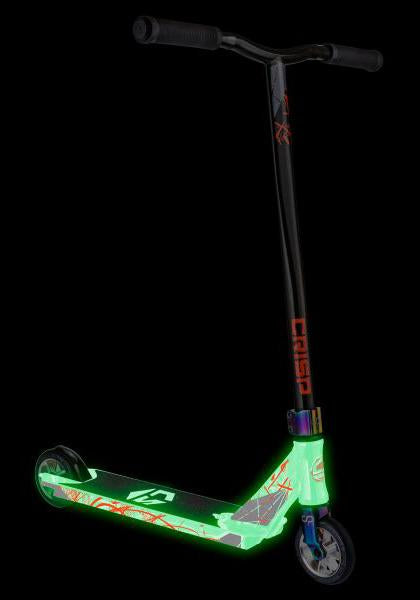 Crisp Inception Pro Scooter - Glow in the Dark