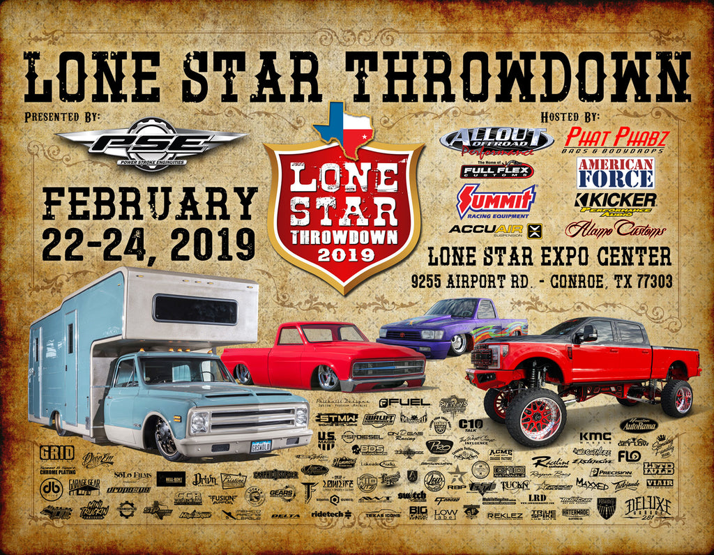 NEXT EVENT: LONESTAR THROWDOWN 2019