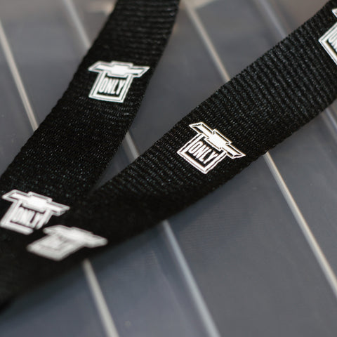 Chevy Only Black Lanyards
