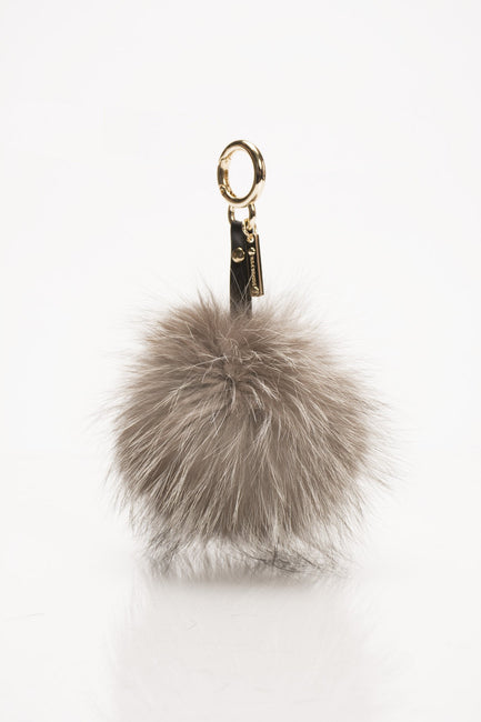 Silver Fox Key Chain