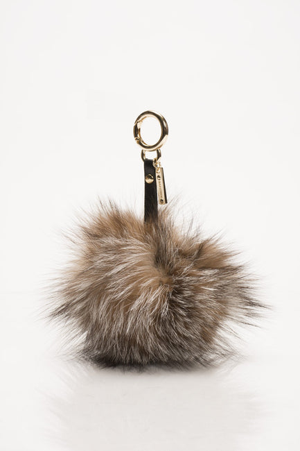 Crystal Fox Key Chain