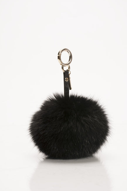 Black Fox Key Chain