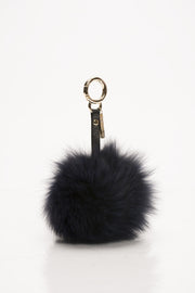 Navy Fox Key Chain