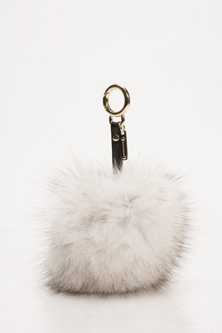 Blue Fox Key Chain