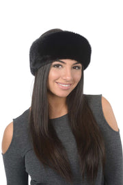 Headband - Black Mink