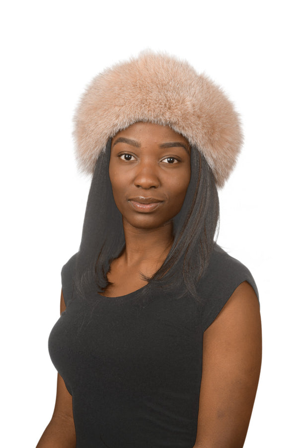 J.Ziglou Blush Fox Hat