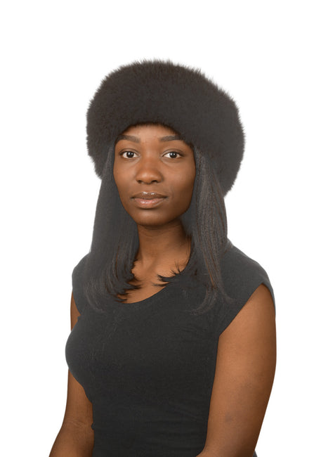 J.Ziglou Black Fox Hat