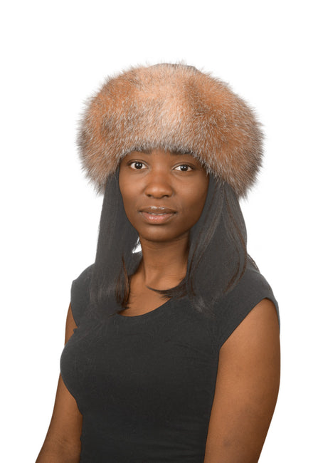 J.Ziglou Crystal Fox Hat