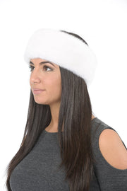 Headband - White Mink