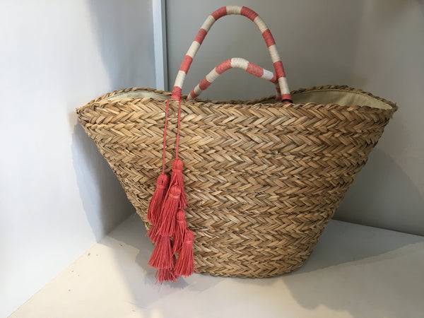 Layla Woven Tote