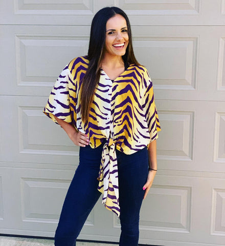 TIGER PRIDE BLOUSE