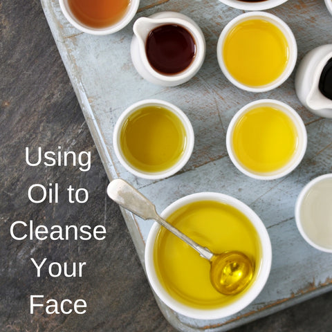 Using Oil to Cleanse Your Face