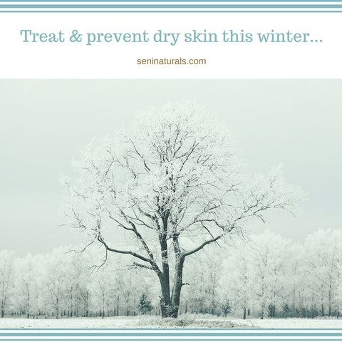 Treat & Prevent Dry Skin This Winter
