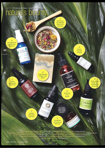 Day Spa Magazine Green Beauty - Seni Naturals