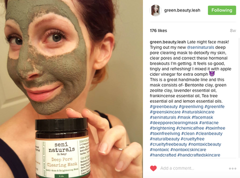 Green Beauty Leah on Instagram - Seni Naturals Pregnancy Safe Skin Care