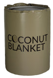 CN55 55-Gallon Coconut Oil Drum Heating Blanket, Fixed Thermostat, 100°F, 120V, 400/800 Watts