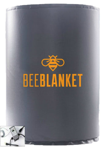 BB55PRO - Bee Blanket 55-Gallon Insulated Drum Heating Blanket w/Digital Temp Controller - Up to 145°F - Powerblanket Shop  - 1
