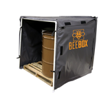 BBHB48-800 Bee Box Bulk Material Hot Box Honey Heater, 48 cubic feet, 3' x 4' x 4', 120V, 800 Watts, 6.67 Amps - Powerblanket Shop  - 2