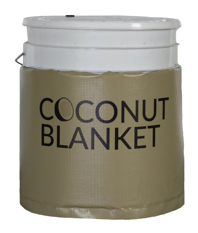 CN05 - 5 Gallon Bucket/Pail Coconut Oil Heating Blanket, 100°F, 120V, 120 Watts