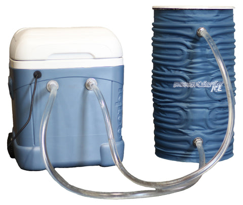 PBICE15-FC-IC Powerblanket ICE 15-Gallon Drum Cooling Fluid Channel Blanket with Modified Cooler Box & Pump