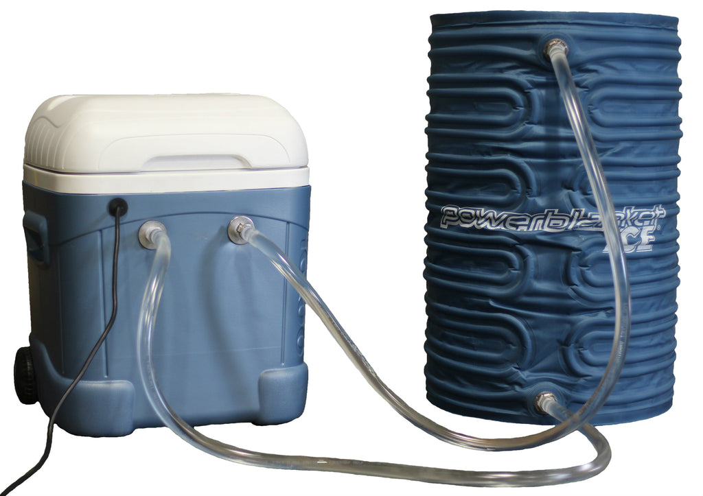 PBICE55-FC-IC Powerblanket ICE 55-Gallon Drum Cooling Fluid Channel Blanket with Modified Cooler Box & Pump