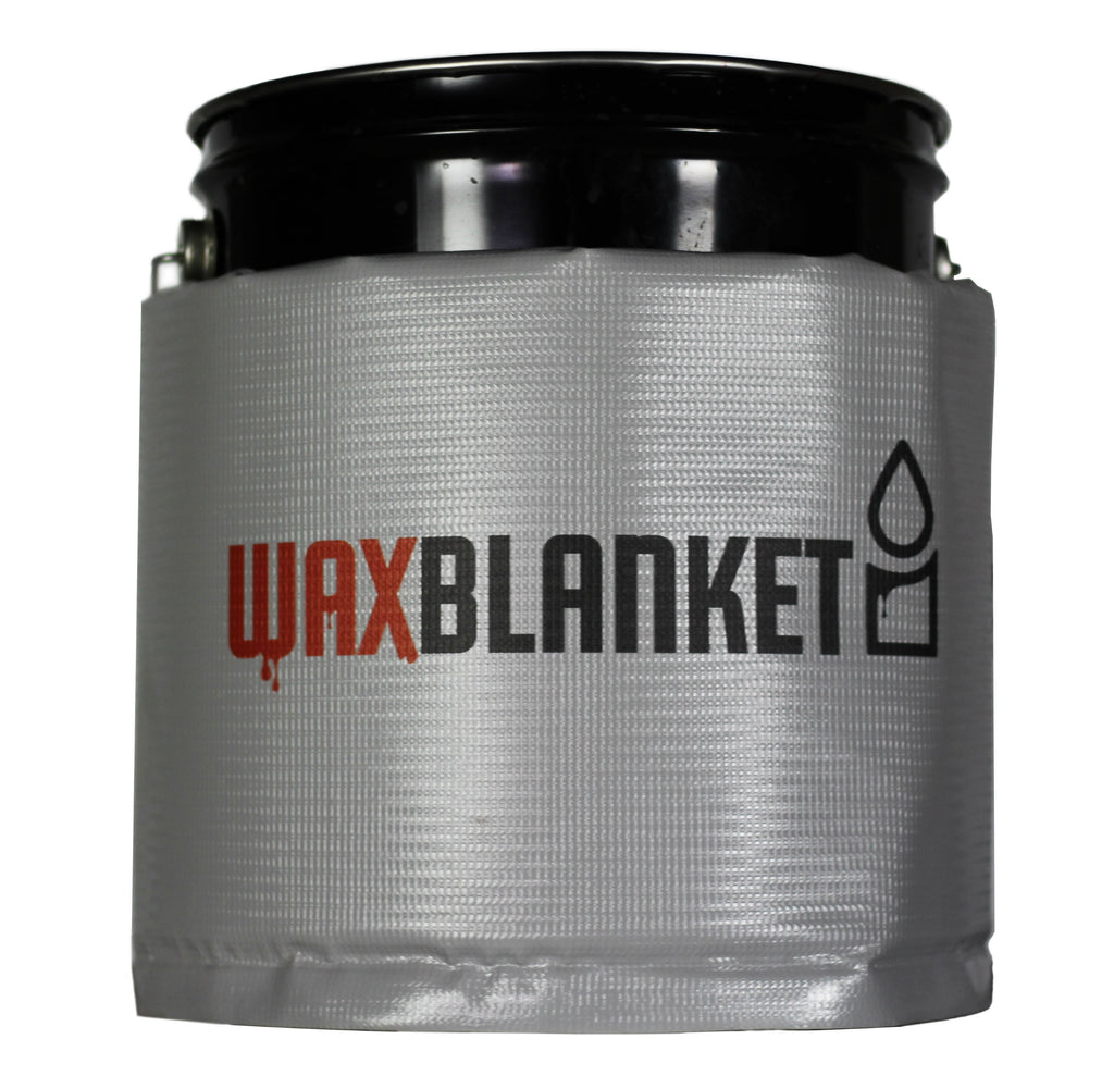 WX05 - 5 Gallon Bucket Wax & Glycerin Heating Blanket, 200°F, 120V, 175 Watts