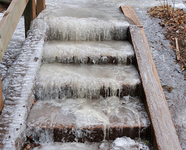 Summerstep Home Residential Snow Melting Heated Stair Mat