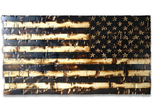 Wood american flag -THE LEGACY FLAG