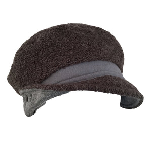 Hat, Grey Toned Beret