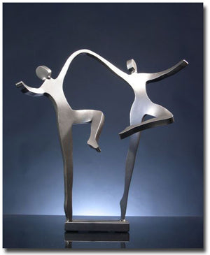 Joyous Dancers Sculpture