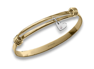 Charming Signature Bracelet w/Diamond