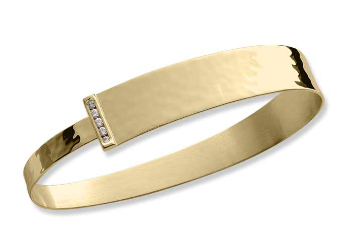 Diamonds Ablaze Bracelet in 14K Gold