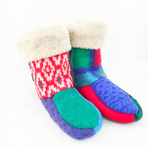 Bootie-Slipper Bright Colors