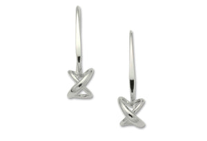 Dangling Secret Heart Earrings