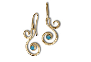 Fiddlehead Earrings