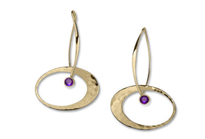 Elliptical Elegance Earrings