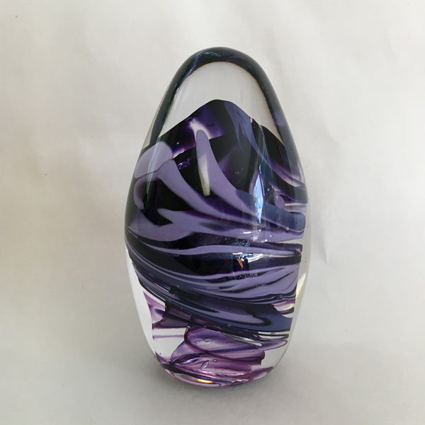 Paperweight, Purple Egg